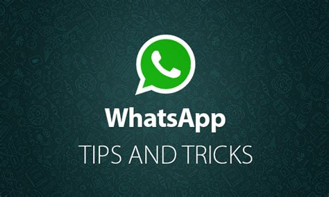 cool whatsapp tips and tricks infographic instantshift