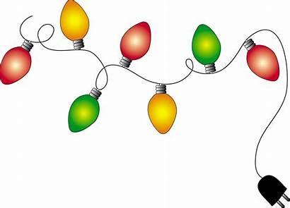 Christmas Address Labels Return Clipart Clip Lights