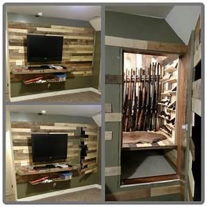 """""""Hidden Door to Gun Closet """" - https://www stashvault com"""