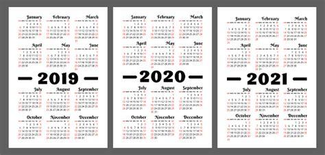 calendar    years vector set week starts