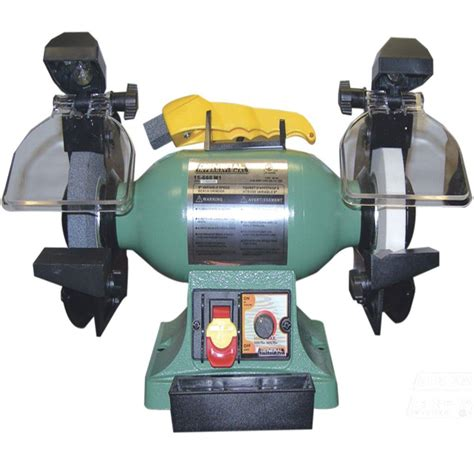 variable speed bench grinder general international 110 volt 6 in variable speed bench