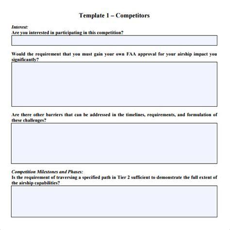 sample rfp response templates