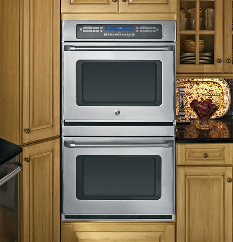ge cafe series  built  double convection wall oven ctstss ge appliances