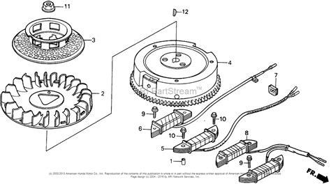 honda engines gxv340 dat engine jpn vin gj02 1000001 to gj02 1009980 parts diagram for flywheel