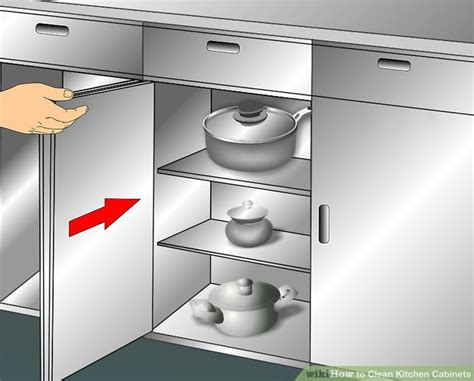 kitchen cabinet cleaner and 3 ways to clean kitchen cabinets wikihow 7751