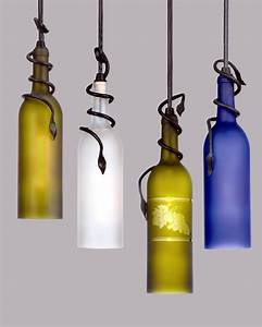 Meyda lighting introduces unique wine bottle pendants