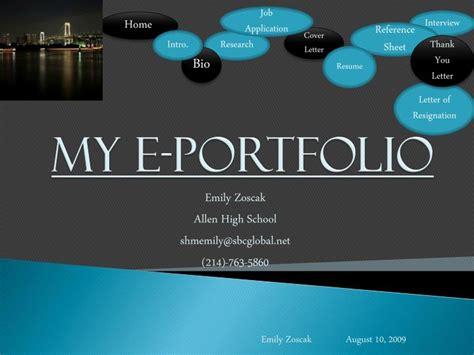 portfolio powerpoint