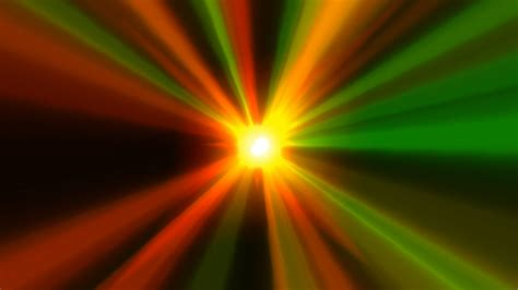 60fps fast rays shine of lights animation background