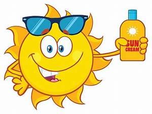 Creme Solaire Dessin : heureux soleil tenant une cr me solaire premium clipart ~ Melissatoandfro.com Idées de Décoration