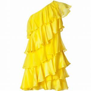 Trendsfor 2014 Neon Yellow Cocktail Dresses
