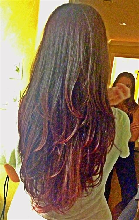 New Hair Cut And Color Long Hair With Layers Ion Medium