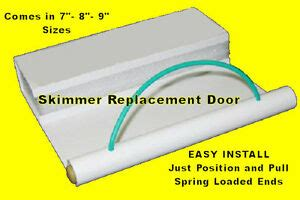 Pool Skimmer Weir Door by Swimming Pool Replacement Skimmer Weir Door Float Skim