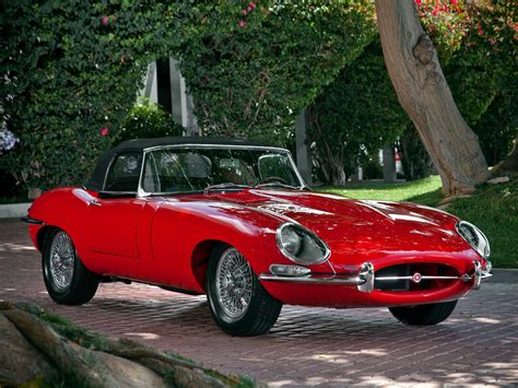 E Type Roadster (series I) 1961 Full Hd Wallpaper And