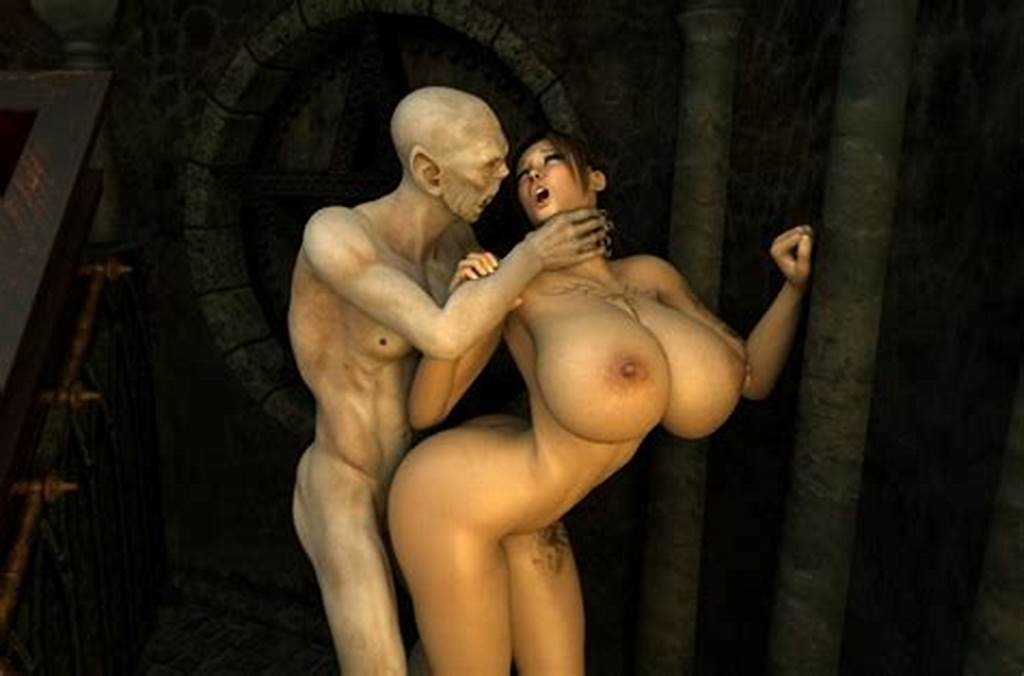 #Cute #Little #3D #Elf #Gets #Raped #By #A #Skinny #Monster