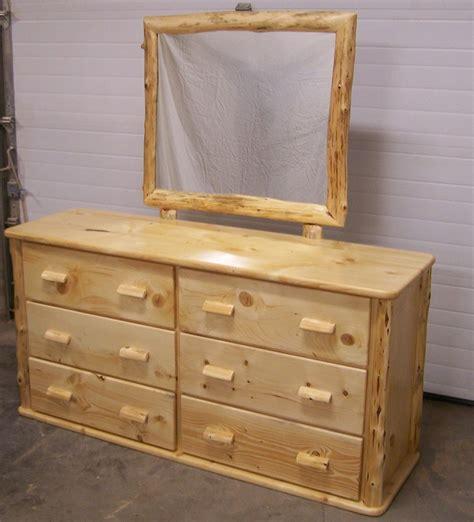 pine wood dresser custom made knotty pine six drawer dresser by fbt sawmill