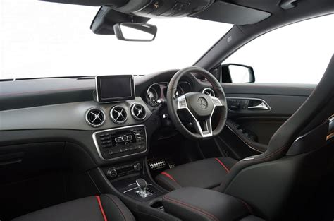 Plus, you get the same great infotainment system as the rest of. Mercedes-AMG CLA 45 Review (2016) | Autocar