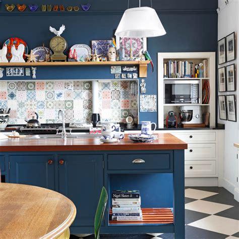 Kitchen Pics Ideas - navy kitchen ideas ideal home