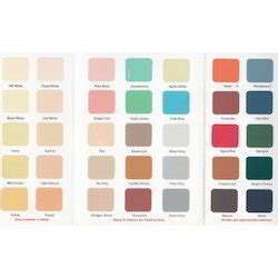 shade cards colour chart price manufacturers suppliers