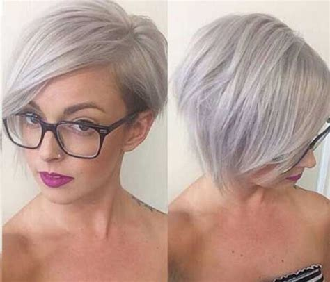 14 Short Hairstyles For Gray Hair Short Hairstyles 2017