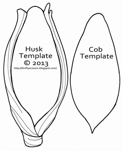 corn template ear of corn template search farm and gardening crafts ideas printables in 2018