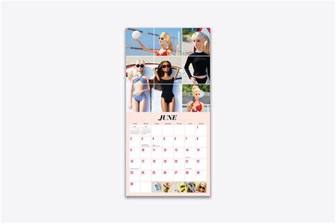 barbie atbarbiestyle wall calendar wall abrams