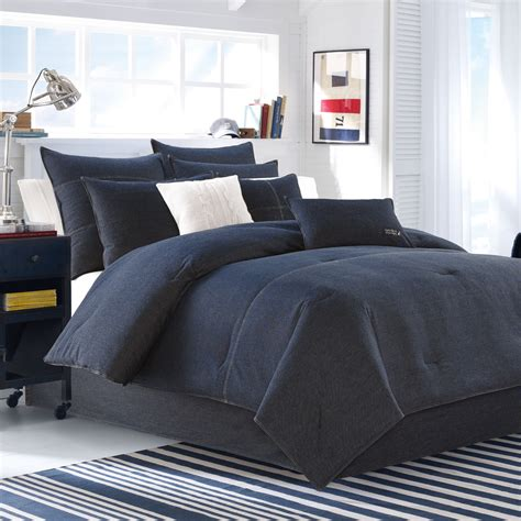 seaward denim comforter set ebay - Denim Comforter Set Full