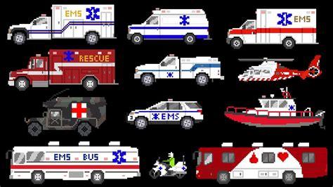 medical vehicles emergency vehicles ambulances