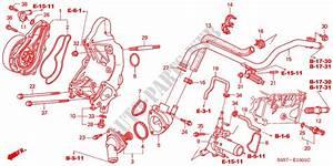 Water Pump Sensor Type R Engine Type R 2002 Civic Honda