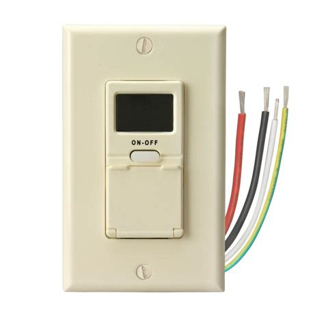 how to program outdoor light timer woods programmable timer switch light almond 59028 the