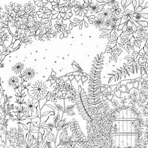 HD Wallpapers Secret Garden Coloring Page