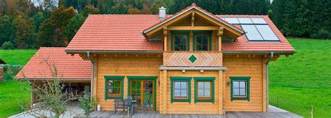 Massive Holzhäuser Und Blockhäuser