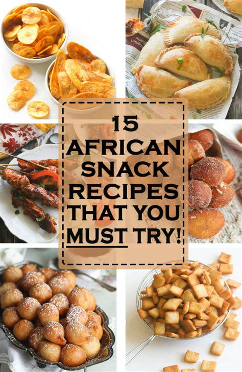 african snacks  appetizers