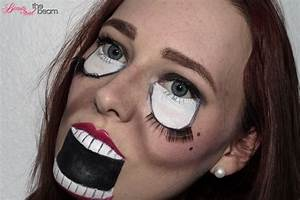 Halloween Make Up Puppe : halloween make up scary doll look ~ Frokenaadalensverden.com Haus und Dekorationen