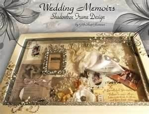shadow box wedding shadow box shaddow box