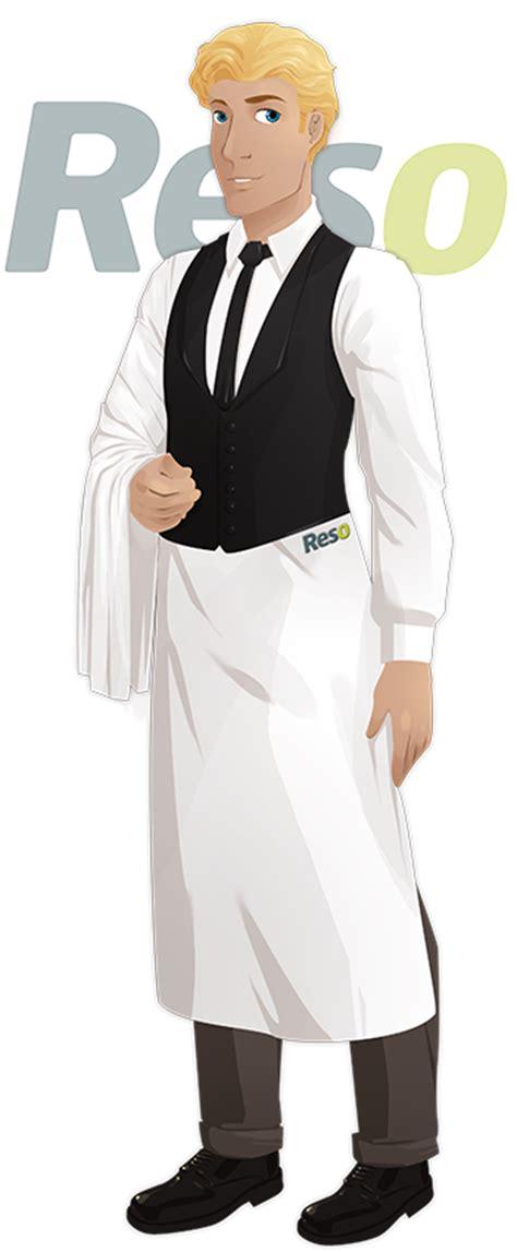 tenue professionnelle cuisine tenue de travail du serveur de restaurant reso le