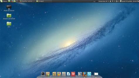 bureau linux linux mint créer un raccourci sur le bureau