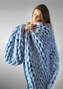 Chunky Wolle Decke : grande punto decke chunky knit decke kuschelige decke ~ Watch28wear.com Haus und Dekorationen
