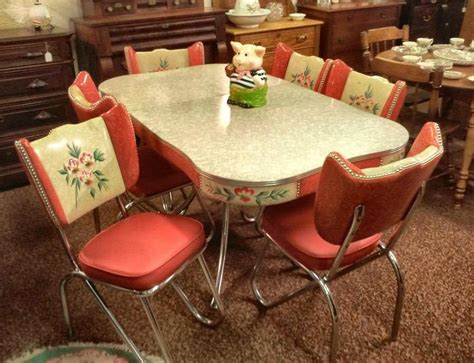 images  vintage enamel  formica kitchen tables  chairs  pinterest table