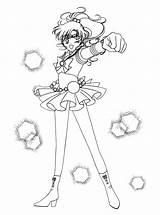 Coloring Pages Sailormoon Colouring Sailor Jupiter Moon Sailors Picgifs Cartoons 80s Manga Sheets 塗り絵 Mario Super Adult Scouts Card 保存 sketch template