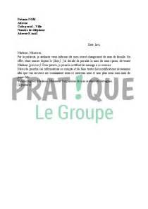 lettre changement de nom suite à un mariage pratique fr - Changement De Nom Suite Mariage