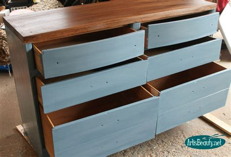 Paint Makeover Idea For A French Blue Dresser