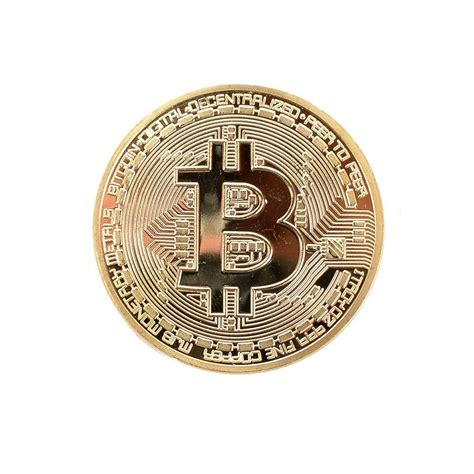 Gold Bitcoin Commemorative Digital Currency Coins | Pasar ...