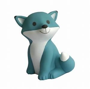 Veilleuse Pour Bébé : lampe veilleuse cesar renard bleue ~ Mglfilm.com Idées de Décoration