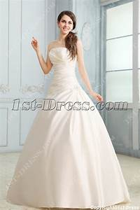 Fabulous strapless a line satin corset wedding dress1st for A line corset wedding dress
