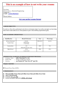 17673 microsoft word resume format cv template in microsoft word 2007