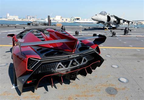 Lamborghini Veneno Boat lamborghini veneno roadster on a boat