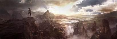 Raider Tomb Croft Concept Dual Island Lara