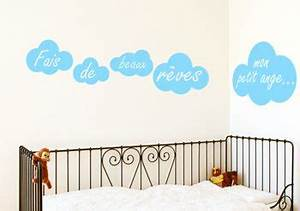 Chambre Bebe Nuage : awesome stickers chambre bebe nuage photos awesome interior home satellite ~ Teatrodelosmanantiales.com Idées de Décoration