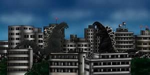 Godzilla 1994 vs Godzilla 1954 by Ltdtaylor1970 on DeviantArt
