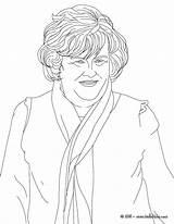 Susan Boyle Coloring Famous Colorear Hellokids Sheets Colorir Singer Star Britse Kleurplaten Beroemdheden Gratis Desenho Adult Colouring Dibujos Printen Rock sketch template